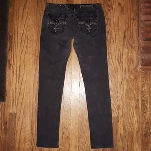 Rock revival Manisa skinny black Jeans, 32x33